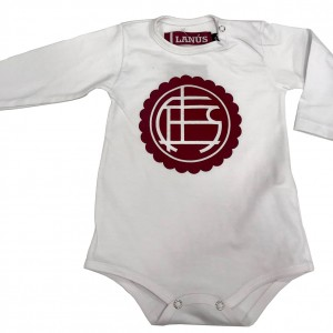 BODY ESCUDO BEBE BLANCO